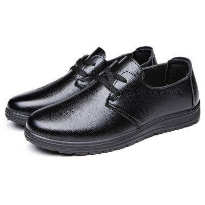 Men Business Casual Warmest Soft Oxford Shoes