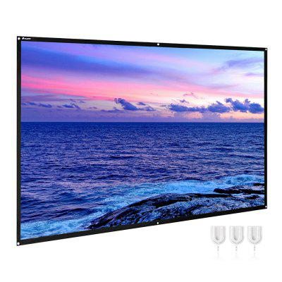 Houzetek Projector Screen 120 inch
