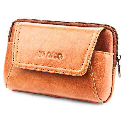 YIANG Fashion Leather Cellphone Waist Bag