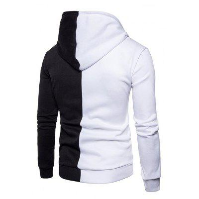 CTSmart Fashion Splicing Hoodie JacketMens Hoodies &amp; Sweatshirts<br>CTSmart Fashion Splicing Hoodie Jacket<br><br>Brand: CTSmart<br>Closure Type: Zipper<br>Clothes Type: Hoodie Jacket<br>Material: Cotton, Polyester<br>Occasion: Daily Use<br>Package Contents: 1 x Hoodie Jacket<br>Package size: 35.00 x 30.00 x 2.00 cm / 13.78 x 11.81 x 0.79 inches<br>Package weight: 0.5200 kg<br>Product weight: 0.5000 kg<br>Style: Casual<br>Thickness: Regular