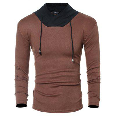 Men V Neck Long Sleeves T-shirtMens Long Sleeves Tees<br>Men V Neck Long Sleeves T-shirt<br><br>Material: Cotton, Polyester<br>Neckline: V Neck<br>Package Content: 1 x T-shirt<br>Package size: 30.00 x 25.00 x 2.00 cm / 11.81 x 9.84 x 0.79 inches<br>Package weight: 0.2400 kg<br>Product weight: 0.2200 kg<br>Season: Spring, Autumn<br>Sleeve Length: Long Sleeves<br>Style: Casual