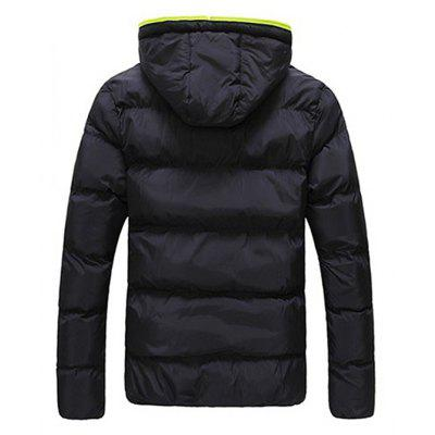 Stylish Padded Winter JacketMens Jackets &amp; Coats<br>Stylish Padded Winter Jacket<br><br>Closure Type: Zipper<br>Clothes Type: Padded<br>Collar: Hooded<br>Embellishment: Others<br>Materials: Cotton, Cotton Blend<br>Occasion: Daily Use<br>Package Content: 1 x Padded Jacket<br>Package Dimension: 35.00 x 25.00 x 2.00 cm / 13.78 x 9.84 x 0.79 inches<br>Package weight: 0.5700 kg<br>Pattern Type: Others<br>Product weight: 0.5500 kg<br>Seasons: Winter<br>Shirt Length: Regular<br>Sleeve Length: Long Sleeves<br>Style: Casual<br>Thickness: Thickening