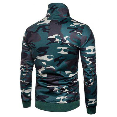 CTSmart Stand Collar Camouflage SweatshirtMens Hoodies &amp; Sweatshirts<br>CTSmart Stand Collar Camouflage Sweatshirt<br><br>Brand: CTSmart<br>Clothes Type: Sweatshirt<br>Material: Cotton, Polyester<br>Occasion: Casual<br>Package Contents: 1 x Sweatshirt<br>Package size: 35.00 x 30.00 x 2.00 cm / 13.78 x 11.81 x 0.79 inches<br>Package weight: 0.5000 kg<br>Product weight: 0.4800 kg<br>Thickness: Regular