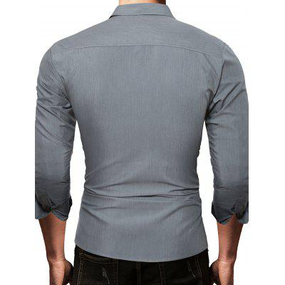 Business Solid Color Long Sleeve Button Down ShirtMens Shirts<br>Business Solid Color Long Sleeve Button Down Shirt<br><br>Closure Type: Button<br>Material: Cotton, Polyester<br>Package Contents: 1 x Shirt<br>Package size: 30.00 x 25.00 x 1.00 cm / 11.81 x 9.84 x 0.39 inches<br>Package weight: 0.2300 kg<br>Pattern: Solid Color<br>Product weight: 0.2100 kg<br>Style: Casual, Classic<br>Thickness: Regular