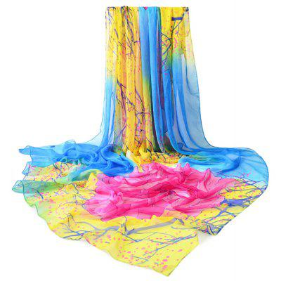 Women Lightweight Flower Design Printed Silk ScarfWomens Scarves<br>Women Lightweight Flower Design Printed Silk Scarf<br><br>Material: Chiffon<br>Package Content: 1 x Silk Scarf<br>Package Dimension: 30.00 x 40.00 x 1.00 cm / 11.81 x 15.75 x 0.39 inches<br>Package weight: 0.0950 kg<br>Product weight: 0.0900 kg<br>Season: Winter, Summer, Spring, Fall<br>Style: Fashion