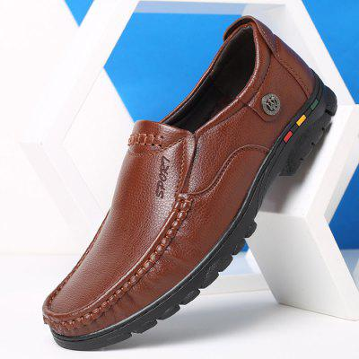 Men Soft Well-matched Casual Oxford ShoesMen's Oxford<br>Men Soft Well-matched Casual Oxford Shoes<br><br>Closure Type: Slip-On<br>Contents: 1 x Pair of Shoes, 1 x Box<br>Function: Slip Resistant<br>Materials: Rubber, PU<br>Occasion: Tea Party, Shopping, Office, Holiday, Formal, Party, Casual, Daily, Dress<br>Outsole Material: Rubber<br>Package Size ( L x W x H ): 30.00 x 20.00 x 10.00 cm / 11.81 x 7.87 x 3.94 inches<br>Package weight: 0.7500 kg<br>Pattern Type: Solid<br>Product weight: 0.7000 kg<br>Seasons: Autumn,Spring<br>Style: Modern, Leisure, Formal, Fashion, Comfortable, Casual, Business<br>Toe Shape: Round Toe<br>Type: Casual Leather Shoes<br>Upper Material: PU