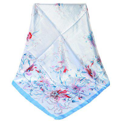 Women Soft All-match Floral Pattern Silk ScarfWomens Scarves<br>Women Soft All-match Floral Pattern Silk Scarf<br><br>Material: Imitated Silk Fabric<br>Package Content: 1 x Silk Scarf<br>Package Dimension: 30.00 x 40.00 x 1.00 cm / 11.81 x 15.75 x 0.39 inches<br>Package weight: 0.0550 kg<br>Product weight: 0.0500 kg<br>Season: Winter, Summer, Spring, Fall<br>Style: Fashion
