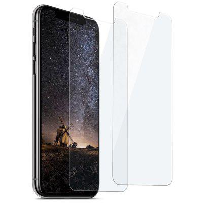 Gearbest siroflo Curved Tempered Glass Screen Protector Film for iPhone X 2PCS - TRANSPARENT