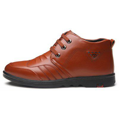 Men Soft Warmest Dress Ankle-top Casual Oxford ShoesMen's Oxford<br>Men Soft Warmest Dress Ankle-top Casual Oxford Shoes<br><br>Closure Type: Lace-Up<br>Contents: 1 x Pair of Shoes, 1 x Box<br>Function: Slip Resistant<br>Lining Material: Velvet<br>Materials: Rubber, Velvet, PU<br>Occasion: Tea Party, Shopping, Office, Holiday, Casual, Party, Daily, Dress, Formal<br>Outsole Material: Rubber<br>Package Size ( L x W x H ): 32.00 x 22.00 x 12.00 cm / 12.6 x 8.66 x 4.72 inches<br>Package weight: 0.9000 kg<br>Pattern Type: Solid<br>Product weight: 0.8500 kg<br>Seasons: Autumn,Spring,Winter<br>Style: Modern, Business, Casual, Comfortable, Fashion, Formal, Leisure<br>Toe Shape: Round Toe<br>Type: Casual Leather Shoes<br>Upper Material: PU