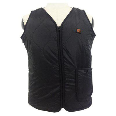 Casual Solid Color Electric Heated Vest