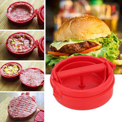 Hamburger Maker Meat Stuffing for Home Kitchen Cooking SuppliesOther Kitchen Accessories<br>Hamburger Maker Meat Stuffing for Home Kitchen Cooking Supplies<br><br>Material: PP<br>Package Contents: 1 x Hamburger Stuffing Maker<br>Package size (L x W x H): 13.50 x 13.50 x 7.20 cm / 5.31 x 5.31 x 2.83 inches<br>Package weight: 0.1350 kg<br>Product weight: 0.1300 kg<br>Type: Other Kitchen Accessories