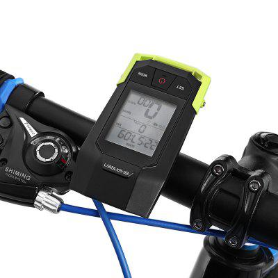 SHANREN SR - BLC10 - B Wireless Bike Computer with Light