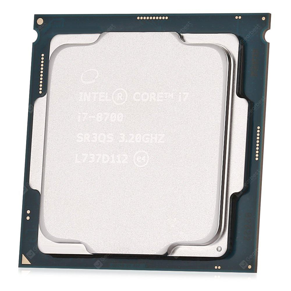 Intel Core i7 8700 Processor Hexa-core CPU - SILVER