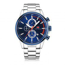 MINI FOCUS MF0085G Steel Band Men Watch