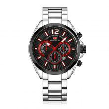 MINI FOCUS MF0104G Steel Band Men Watch