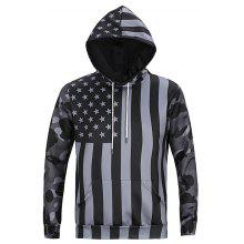 Colormix CTSmart Stripe Stars Motifs Hoodie coupons