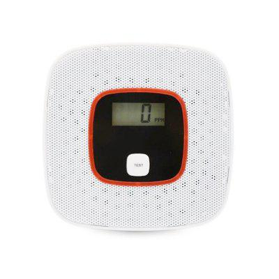 US Portable Gas Alarm with Voice Warning Digital Display 2pcs