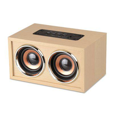 B - 9 Simple Bluetooth 4.2 Altavoz de Madera