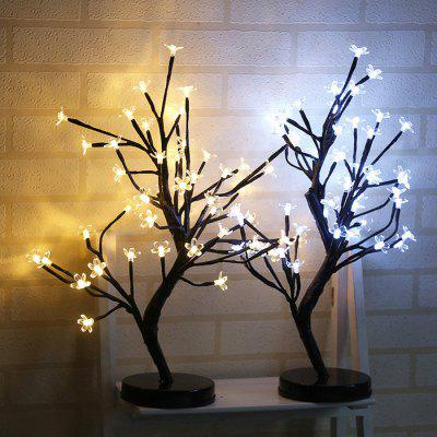 Waterproof 48-LED Plum Blossom LED Tree Light