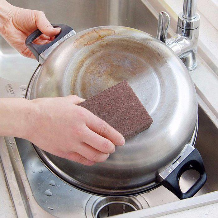 Emery Sponge Brush Kitchen Cleaning Tool