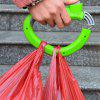 Soft Grip Shopping Bag Holder Handle - GREEN