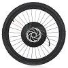 YUNZHILUN 36V - X iMortor 27.5 inch Wheel Front Electric Bike Wheel E-bike - BLACK