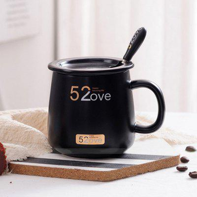 400ml Creative Mug Set Romantic Ceramic Milk Coffee Cup