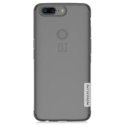 NILLKIN Lightweight Skid-proof Cover Case for OnePlus 5TCases &amp; Leather<br>NILLKIN Lightweight Skid-proof Cover Case for OnePlus 5T<br><br>Brand: Nillkin<br>Features: Anti-knock, Back Cover, Dirt-resistant<br>Material: TPU<br>Package Contents: 1 x Case<br>Package size (L x W x H): 18.20 x 11.00 x 1.80 cm / 7.17 x 4.33 x 0.71 inches<br>Package weight: 0.0540 kg<br>Product Size(L x W x H): 15.50 x 7.50 x 0.80 cm / 6.1 x 2.95 x 0.31 inches<br>Product weight: 0.0130 kg<br>Style: Transparent