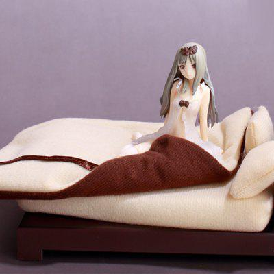 Famous Animation Character with Bed Doll Model