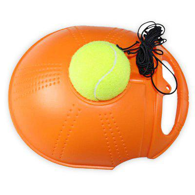 Rebound Tennis Trainer Ball Training EquipmentNovelty Toys<br>Rebound Tennis Trainer Ball Training Equipment<br><br>Features: Mini<br>Materials: Plastic<br>Package Contents: 1 x Tennis, 1 x Base, 1 x 5m Elastic Cord, 1 x Clasp<br>Package size: 35.00 x 21.00 x 10.00 cm / 13.78 x 8.27 x 3.94 inches<br>Package weight: 0.3300 kg<br>Product weight: 0.2800 kg<br>Series: Lifestyle<br>Theme: Sports