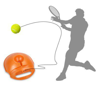 Rebound Tennis Trainer Ball Training Equipment - ORANGE