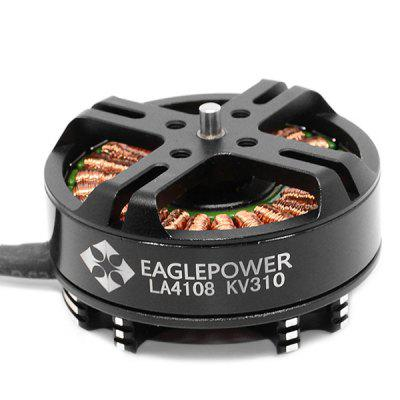 EAGLEPOWER LA4108 310KV Disc Multi-axis MotorMotor<br>EAGLEPOWER LA4108 310KV Disc Multi-axis Motor<br><br>Configuration: 24N22P<br>KV: 310<br>Max. Continuous Current (A): 14A<br>Max. Continuous Power (W): 330W<br>Model: LA4108<br>No. of Cells: 6 - 8S LiPo<br>Package Contents: 1 x Motor, 1 x Set of Accessories<br>Package size (L x W x H): 6.00 x 6.00 x 3.00 cm / 2.36 x 2.36 x 1.18 inches<br>Package weight: 0.1100 kg<br>Product size (L x W x H): 4.75 x 4.75 x 2.50 cm / 1.87 x 1.87 x 0.98 inches<br>Product weight: 0.0980 kg<br>Type: Motor
