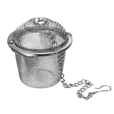HESSION Stainless Steel Spice Tea Filter Mesh Ball