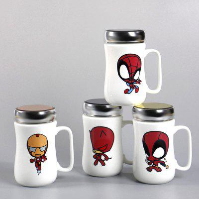400ml Cartoon Ceramic Discoloration Vacuum Cup FlaskWater Cup &amp; Bottle<br>400ml Cartoon Ceramic Discoloration Vacuum Cup Flask<br><br>Material: Ceramics<br>Package Contents: 1 x Vacuum Cup<br>Package size (L x W x H): 15.00 x 15.00 x 15.00 cm / 5.91 x 5.91 x 5.91 inches<br>Package weight: 0.3000 kg<br>Product size (L x W x H): 14.50 x 8.00 x 14.40 cm / 5.71 x 3.15 x 5.67 inches<br>Product weight: 0.2850 kg<br>Style: Creative<br>Suitable for: Party, Home, Bar