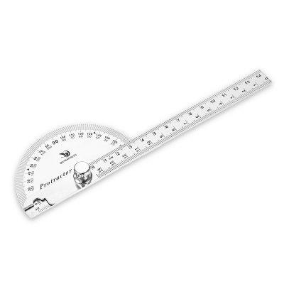 Stainless Steel Angle Ruler Protractor Measuring Tool
