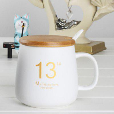 330ml Creative Mug Set Elegant Ceramic Milk Coffee Cup