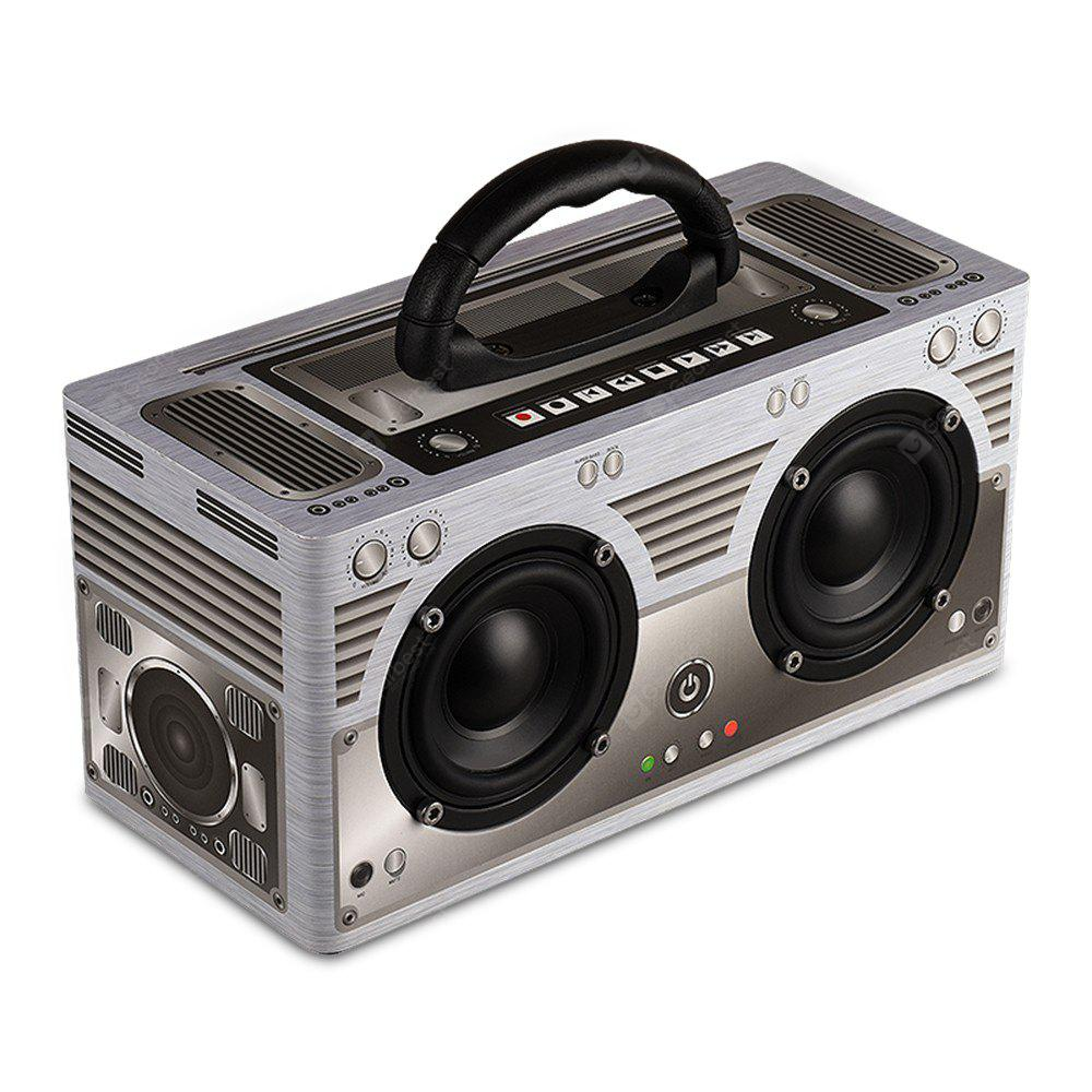 Y8 Retro Bluetooth 4 2 Dual Subwoofer Speaker 53 49