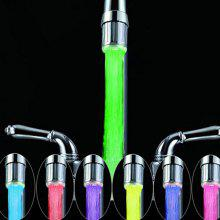 7 Colors Changing LED Light Water Stream Faucet Tap