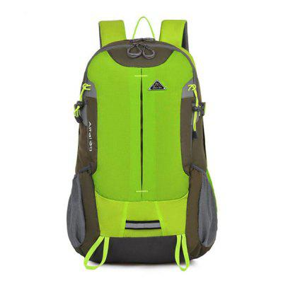 L27 Waterproof Durable Lightweight Climbing BackpackBackpacks<br>L27 Waterproof Durable Lightweight Climbing Backpack<br><br>Capacity: 31 - 40L<br>For: Camping, Climbing, Cycling, Hiking<br>Gender: Unisex<br>Package Contents: 1 x Climbing Backpack<br>Package size (L x W x H): 45.00 x 33.00 x 10.00 cm / 17.72 x 12.99 x 3.94 inches<br>Package weight: 0.6400 kg<br>Product size (L x W x H): 48.00 x 32.00 x 20.00 cm / 18.9 x 12.6 x 7.87 inches<br>Product weight: 0.5900 kg<br>Strap Length: 45 - 80cm<br>Style: Sport, Leisure<br>Type: Backpack