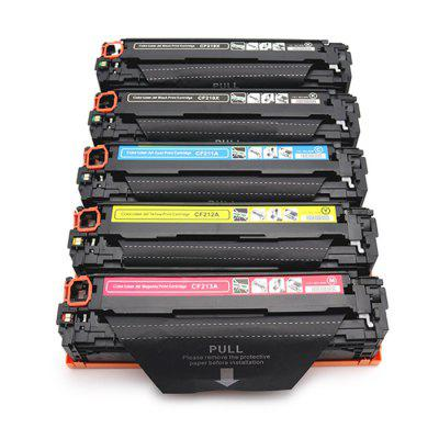 CF210X / CF211A / CF212A / CF213A Toner Cartridge 5PCS