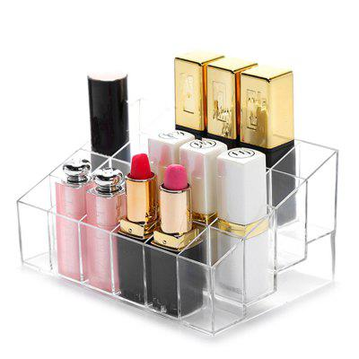 24 Slots Plastic Lipstick Organizer Display Holder