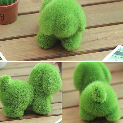 Creative Desk Decoration Artificial Grass AnimalCrafts<br>Creative Desk Decoration Artificial Grass Animal<br><br>Material: Nylon<br>Package Contents: 1 x Artificial Grass Animal<br>Package size (L x W x H): 15.00 x 15.00 x 15.00 cm / 5.91 x 5.91 x 5.91 inches<br>Package weight: 0.2800 kg, 0.2800 kg<br>Product size (L x W x H): 7.00 x 9.00 x 12.00 cm / 2.76 x 3.54 x 4.72 inches, 7.00 x 9.00 x 12.00 cm / 2.76 x 3.54 x 4.72 inches<br>Product weight: 0.2600 kg, 0.2600 kg<br>Subjects: Animal, Animal