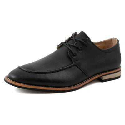 Men Business Slender Pointed Toe Dress ShoesFormal Shoes<br>Men Business Slender Pointed Toe Dress Shoes<br><br>Closure Type: Lace-Up<br>Contents: 1 x Pair of Shoes, 1 x Box<br>Function: Slip Resistant<br>Materials: Rubber, PU<br>Occasion: Tea Party, Shopping, Office, Formal, Party, Casual, Daily, Dress<br>Outsole Material: Rubber<br>Package Size ( L x W x H ): 30.00 x 20.00 x 10.00 cm / 11.81 x 7.87 x 3.94 inches<br>Package weight: 0.8500 kg<br>Pattern Type: Solid<br>Product weight: 0.8000 kg<br>Seasons: Autumn,Spring<br>Style: Modern, Leisure, Formal, Fashion, Comfortable, Casual, Business<br>Toe Shape: Pointed Toe<br>Type: Casual Leather Shoes<br>Upper Material: PU