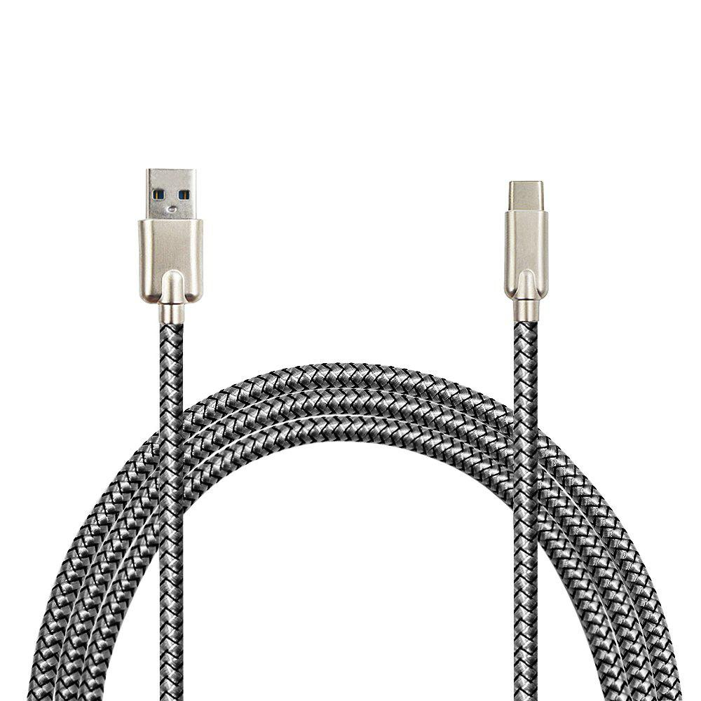 Minismile Zinc Alloy Dragonmarked 3.4A Fast Charge Type-C USB 3.1 to USB Charging / Data Transfer Cable