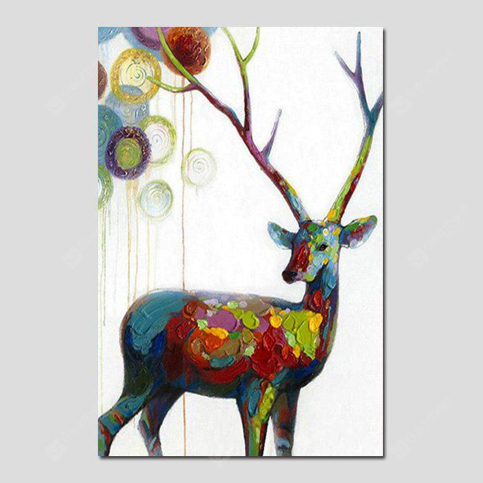 Coupon for mintura canvas oil painting hanging deer wall for Best brand of paint for kitchen cabinets with underwater wall art
