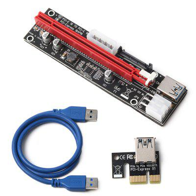 PCI-E 1X to 16X USB 3.0 Graphics Card Adapter