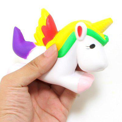 Jumbo Squishy Unicorn Stress Reliever Slow Rising Squeeze Toy