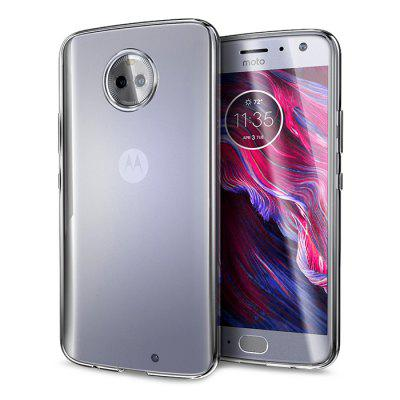Naxtop Transparent Back Cover Case for Moto X4