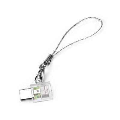 Micro USB to Type-C Adapter with Lanyard