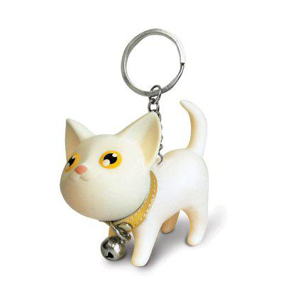 Cartoon Cat Couple Style Keychain Mobile Phone Car Pendent